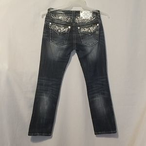 Miss me cropped jeans.